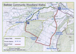Balblair Community Woodland Walks