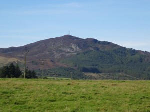 Struie Hill from Edderton Village
