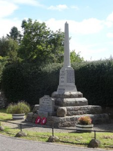 Edderton's War Memorial - 19 08 2016