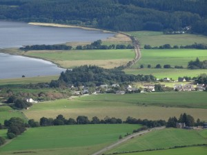 Edderton from Struie Hill looking eastwards - 03 09 2016