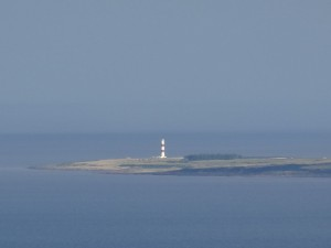 Tarbat Ness Lighthouse from Struie Hill - 03 09 2016